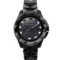 Karl Lagerfeld Karl 7 Black Watch - Pavé Crystal Watch - ShopBAZAAR