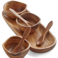 ModCloth Rustic Flavorful Touch Condiment Tray