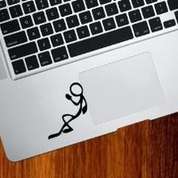 CHILL - Trackpad / Keyboard - Vinyl Decal Sticker (Black)