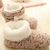 Free Shipping New Winter Fashion Slippers Women shoes  Thicken Warm home Slippers Brand Winter Slippers  For Women