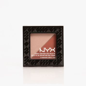 NYX Cheek Contour Duo Palette - Ginger And Pepper