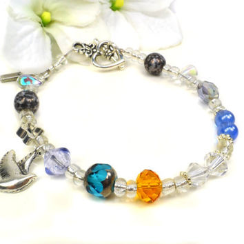 In Memory Bracelet, Special Gift For Loss, Condolence, Memorial