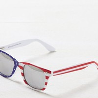 AEO 's Flag Printed Icon Sunglasses (Americana)