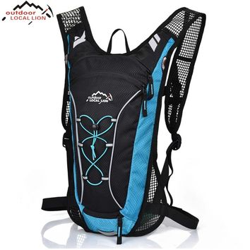 LOCAL LION Women Men Sport Backpack Mesh Breathable Mountain Road Bike Cycling Bag Travelling Climbing Camping Hiking Backpack