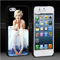 Beautiful Marilyn Monroe for iPod 4th 5th,iPhone 5,5s,5c,4,4s,6,6+,LG Nexus,HTC One,Galaxy S3,S4,S5,Note 2,3-MK