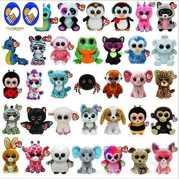A Toy A Dream Ty Beanie Boos Big Eyes Small Unicorn Plush Toy Doll Kawaii Stuffed Animals Collection Lovely variety of styles