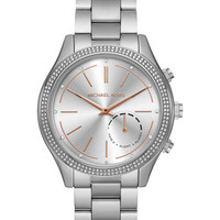 Michael Kors Access Women's Slim Runway Stainless Steel Bracelet Hybrid Smart Watch MKT4004 - Watches - Jewelry & Watches - Macy's