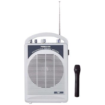 Pyle Pro Rechargeable Pa Speaker With Wireless Microphone
