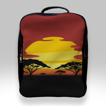Backpack for Student - African Sunset Bags