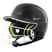 Nike Breakout Softball Batting Helmet with Cage & Chin Strap - Adult