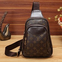 Louis Vuitton LV Women Leather Purse Waist Bag Single-Shoulder Bag