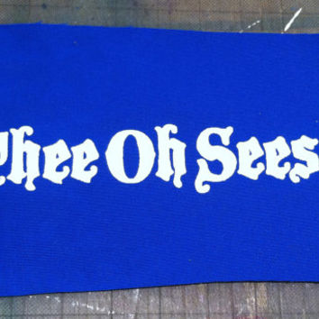 Thee Oh Sees band PATCH