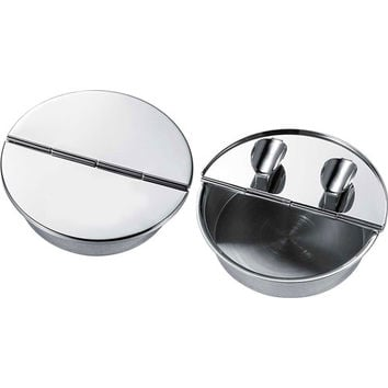 Visol Zimmer Silver Plated Cigar Ashtray with 2 Cigar Rests