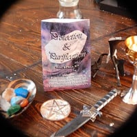 Protection/Purification Mini Spell Kit - Quick and Easy Spell to Provide Protection or Purify Your Space - Wicca, Witchcraft