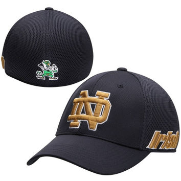 Notre Dame Fighting Irish Top of the World Resurge Memory Fit Flex Hat – Blue