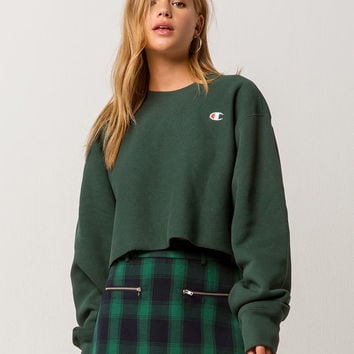 CHAMPION Reverse Weave Womens Crop Sweatshirt