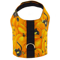 Pumpkin and Cats Halloween Dog Vest Harness