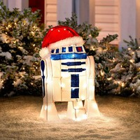 Improvements Star Wars Christmas Figure Decoration - R2D2 - 7658814 | HSN