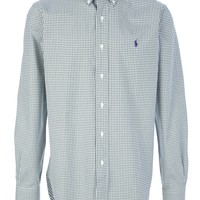 Ralph Lauren Blue Label Checked Button Down Shirt