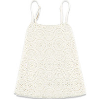 Circle-Patterned Lace Cami (Kids)