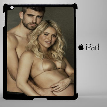 gerard pique and shakira iPad 2, iPad 3, iPad 4, iPad Mini and iPad Air Cases - iPad