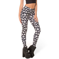 Digital Printed Jack Skellington Leggings
