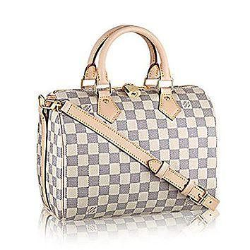 Authentic Louis Vuitton Speedy Bandouli¨¨re 25 Cross Body Leather Handles Bag Article: