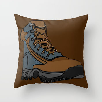 Shoes Throw Pillow by Berwies