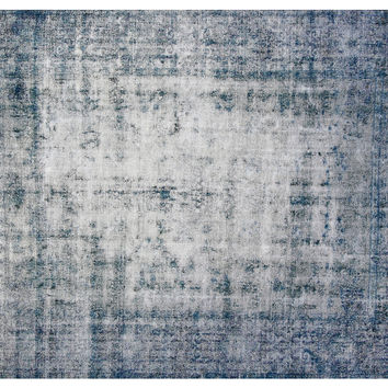 "7'6""x10'2"" Brighton Rug, Silver Blue, Area Rugs"