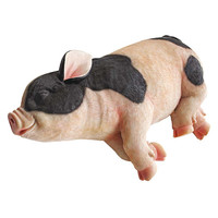 Park Avenue Collection Sleeping Pig Statue