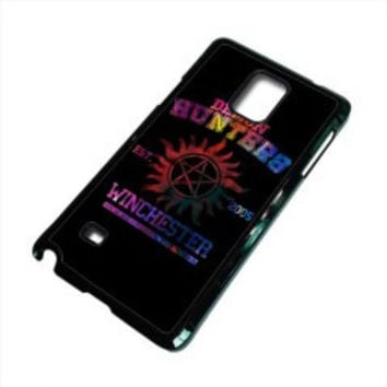 supernatural demon hunters galaxy for samsung galaxy note 5 case