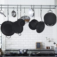 Williams-Sonoma Open Kitchen Hard-Anodized Nonstick 10-Piece Cookware Set