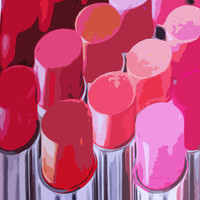 Lipstick Art Print by Love2Snap