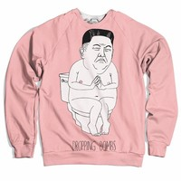 Kim Jong Un Dropping Bombs Sweater
