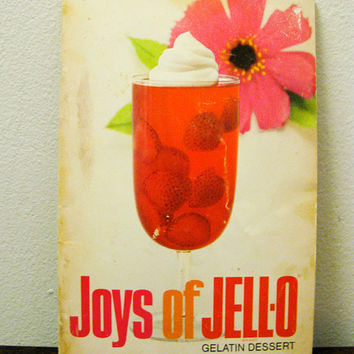 The Joys of Jello Pamphlet of Gelatine by timepassagesshop on Etsy