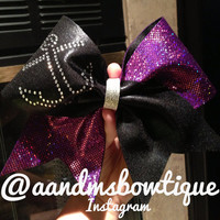 Anchor bow by AandMsBOWtique on Etsy