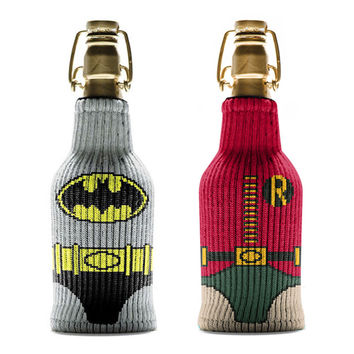 Batman and Robin Bottle Sleeve Bundle