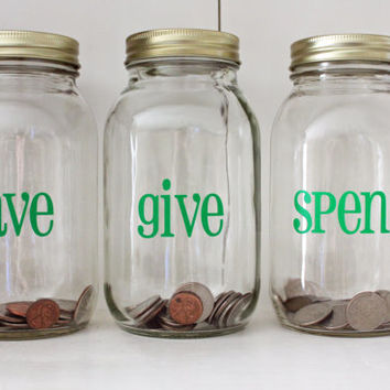 Best savings jar products on wanelo for Cute money saving jars