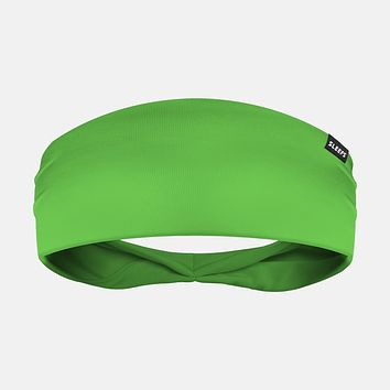 Acuarela Green Headband