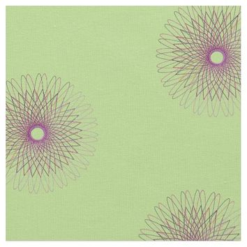 Spiro Purple Flower Fabric