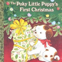 The Poky Little Puppy's First Christmas (Little Golden Books)