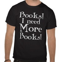 Book Addict T-shirt from Zazzle.com