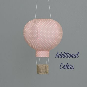 Hot Air Balloon Decoration in Tiny Dot