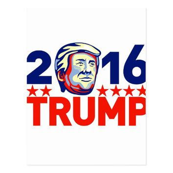 Donald Trump 2016 President Retro Postcard
