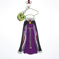 Disney Parks Evil Queen Resin Costume Holiday Ornament New with Tags