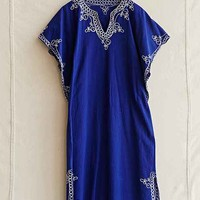 Vintage Blue Stitched Dress- Assorted One