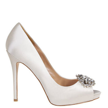 Badgley Mischka Jeannie Embellished Pumps