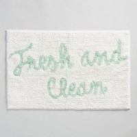 Fresh and Clean Tufted Bath Mat