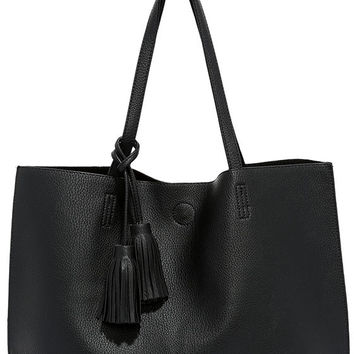 London Calling Black Tote