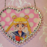 Sailor Moon kawaii harajuku necklace
